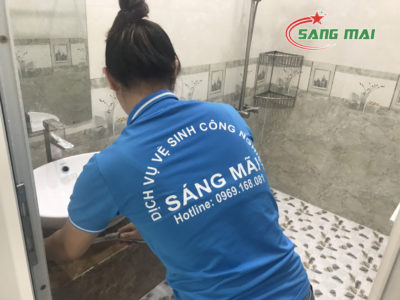 vệ sinh công trình sau xây dụng Biên Hòa 2